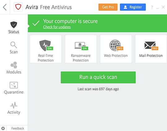 Avira Antivirus Pro 2021 Crack With License Code Full [Latest]