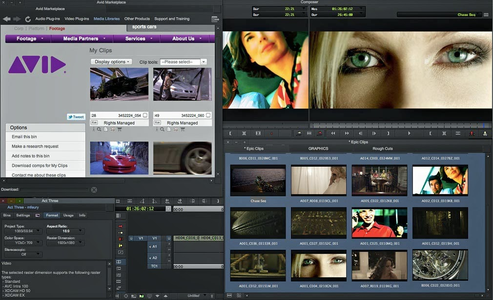Avid Media Composer Crack 8.9.0 + License Key Free Download {Latest}