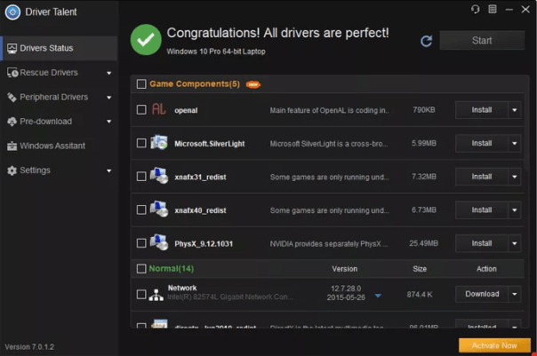 Driver Talent Pro 7.1.28.110 Crack incl Serial Key Free Download