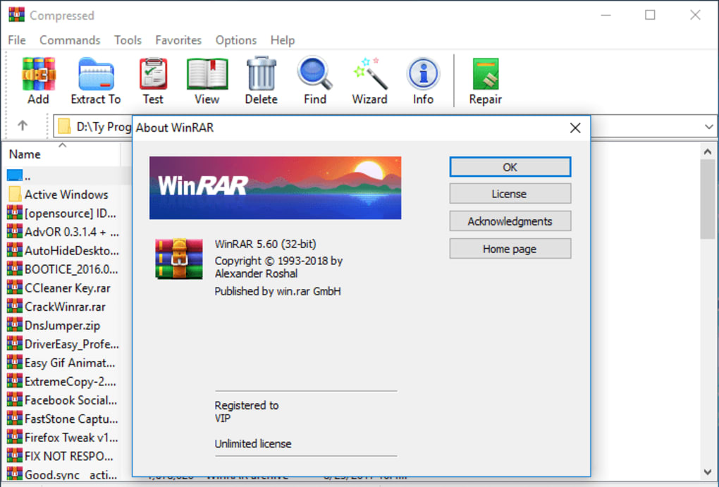 WinRAR Crack 5.90 Final With Key Free Download [Latest]