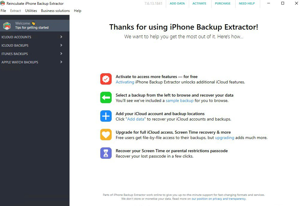 iPhone Backup Extractor 7.7.20.28 Crack Plus Activation Key