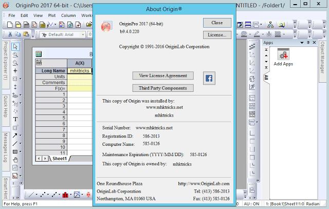 Origin Pro Crack 2020 [Mac+Win] + License Keys Free Download