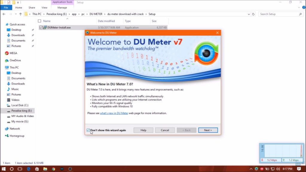 DU Meter Crack 7.30 Build 4769 Torrent + Free Serial Key [2020]