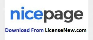 Nicepage 3.6.2 Crack Incl Activation Key Full Download [2021]