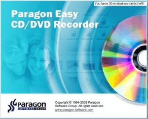 Paragon Easy CD/DVD Recorder 9.0 Crack + Free Key [2021]