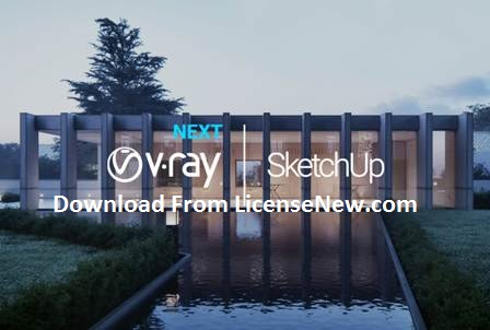 VRay 5 Crack For SketchUp 2021 + License Key Free Download {new}
