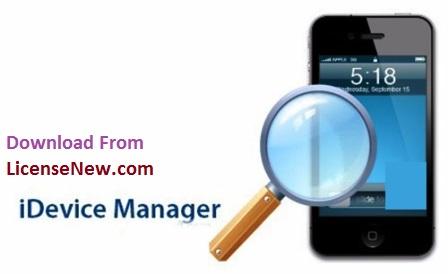iDevice Manager Pro 10.6.1.1 Crack + Serial Key [Latest 2021] Free